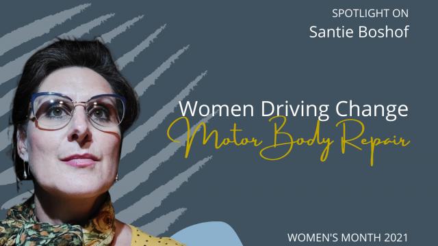 Women Driving Change in MBR: Santie Boshof